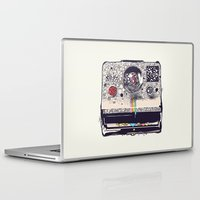 camera Laptop & iPad Skins featuring COLOR BLINDNESS by Huebucket