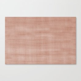 Sherwin Williams Canyon Clay Dry Brush Strokes - Texture Canvas Print