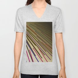 wild design lines  Rainbow edition Unisex V-Neck