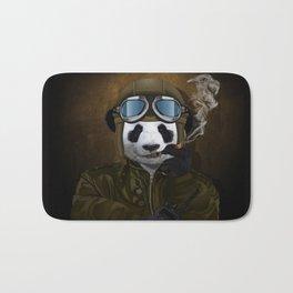 PANDA PILOT iPhone 4 4s 5 5c 6 7, pillow case, mugs and tshirt Bath Mat
