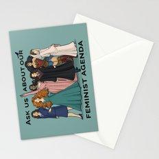 Feminist Agenda Stationery Cards