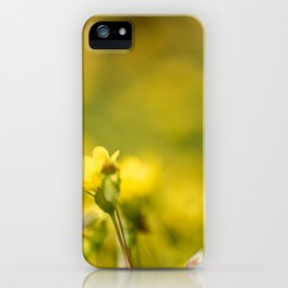 simply yellow iPhone Case
