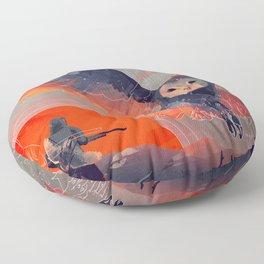 Owl Hunt Floor Pillow
