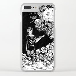 The Bone Carver Clear iPhone Case