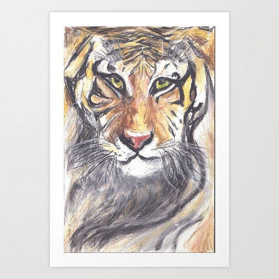 PRINCE TIGER Art Print