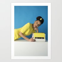 bauhaus Art Prints featuring Bauhaus by Chloe Lee