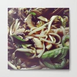 Healthy Pho Soup Metal Print