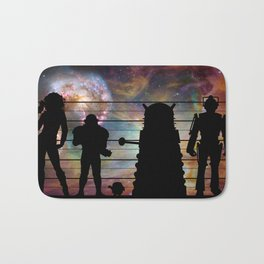 Doctor Who: The Whovian Suspects Bath Mat