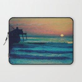 Bouncing Along The Ocean Waves ~ California Laptop Sleeve