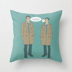 Cas & Kevin - Supernatural Throw Pillow
