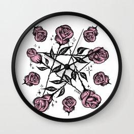 R O S E G R A M Wall Clock