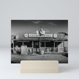 Broken Spoke Saloon Austin Texas Mini Art Print