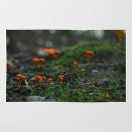 Micro Mushrooms Rug