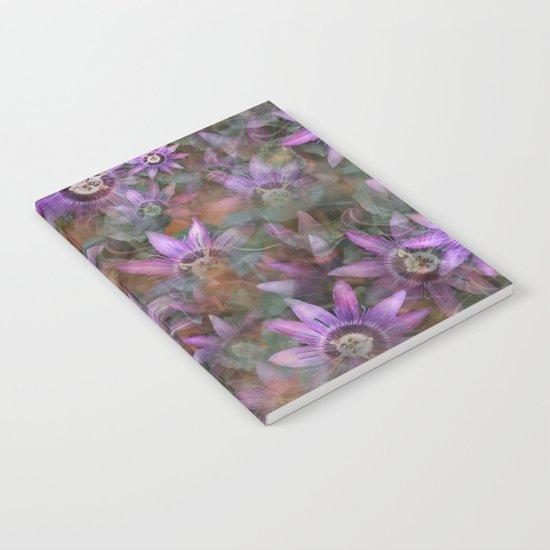Purple Clematis Notebook