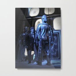Doctor Who and the Tomb of the Cybermen - Action Figures Metal Print