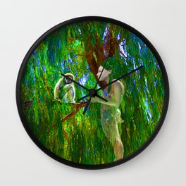 Jungle Connection Wall Clock