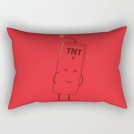Take Cover Rectangular Pillow