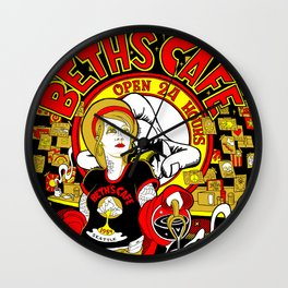 Beth's Cafe 60th Anniversary Wall Clock
