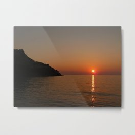 Sunset I Metal Print