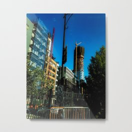 Escape to NY Metal Print