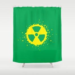 Square Heroes - hulk Shower Curtain