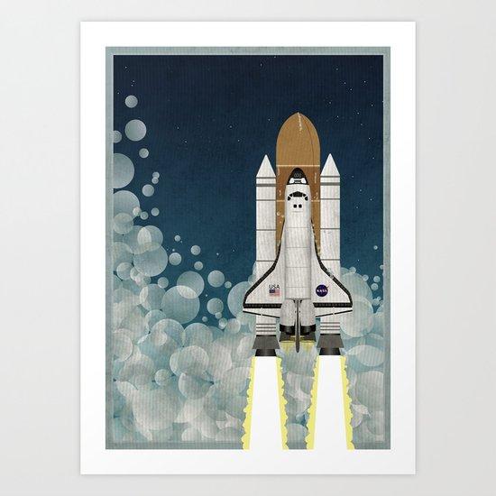 Space Shuttle NASA Launch by wyattdesign