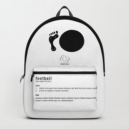 Football is Referred as Backpack