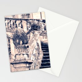 Balustrade Blue Stationery Cards