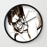 ford Wall Clocks featuring Tom Ford by arnedayan