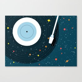 Space Vinyl Canvas Print