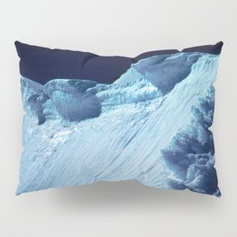 NATURE'S WONDER #2 - Glacier in the dark #art #society6 Pillow Sham