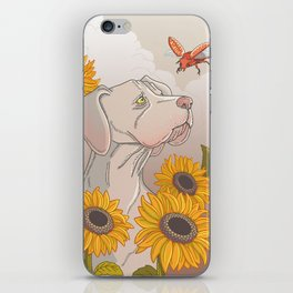 The dog and the beetle iPhone Skin