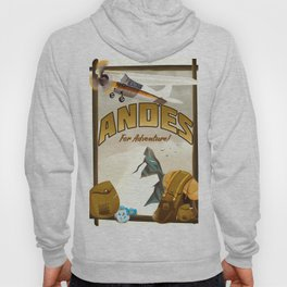 "Andes ""For Adventure!"", Hoody"