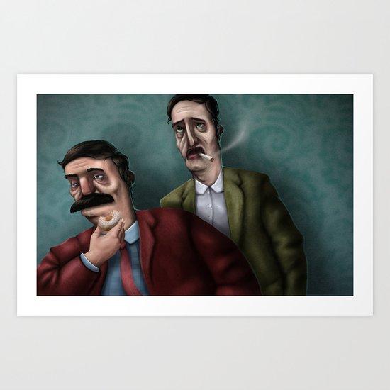 Mario PD Art Print