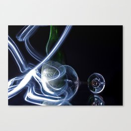 Lights and Alcohol 2 Canvas Print