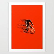 BikeCycling Art Print