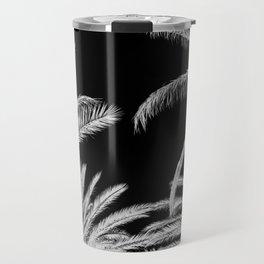 Palm Trees B&W Travel Mug