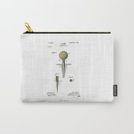 Golf Tee Patent - 1899 Carry-All Pouch