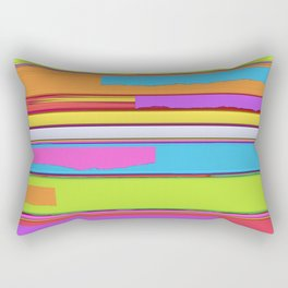 Side streets Rectangular Pillow