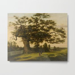 The Charter Oak - Connecticut by Charles De Wolf Brownell Metal Print