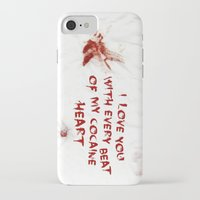 cocaine iPhone & iPod Cases featuring COCAINE LOVE by Beauty Killer Art