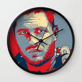 """Max """"Hope"""" Poster Wall Clock"""