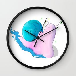 Snail of luck Wall Clock