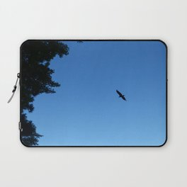 Eagle Silhouette // Nature Photography Laptop Sleeve