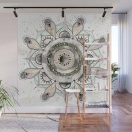 Moon Mandala Wall Mural