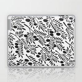 Black Olive Branches Laptop & iPad Skin