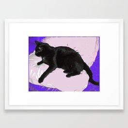 Catupuncture Framed Art Print