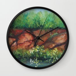 A Broken Bluff MM160216d Wall Clock