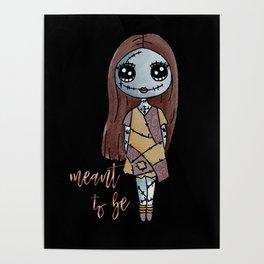 Sally, Nightmare Before Christmas Poster