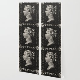 The Penny Black Postage Stamp Wallpaper
